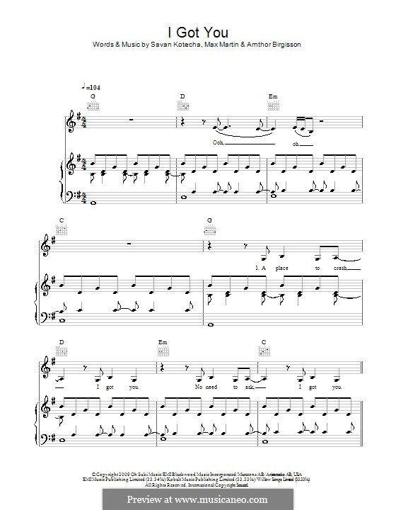 I Got You (Leona Lewis)   Music I Love (+sheet music