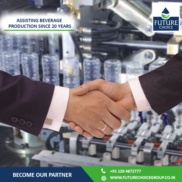 We Are Experienced & Experts In Water Line Production!  @futurechoiceg  has installed more than 1000 beverage plants in the past 20 years. Want to set up your own water production line?  Partner with us today. Visit www.futurechoicegroup.co.in to know more!  #DrinkingWater | #Beverage | #FranchiseOpportunities | #Business