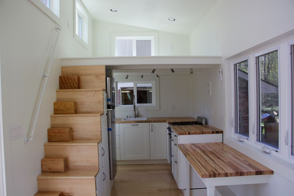 Tiny Home Designs: The-chickadee-brevard-tiny-house-company