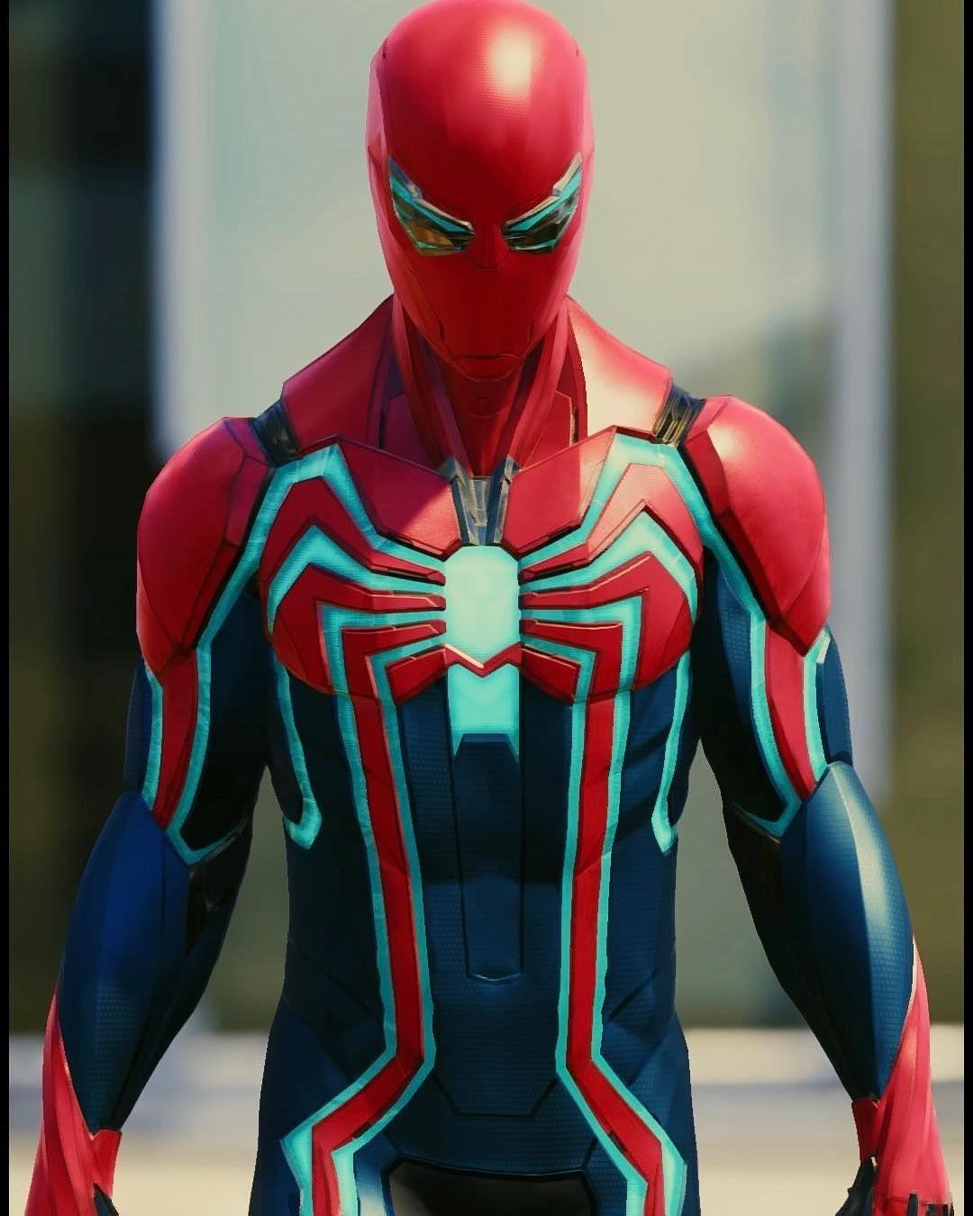 Spider Man Ps4 Coloring Pages Cinebrique