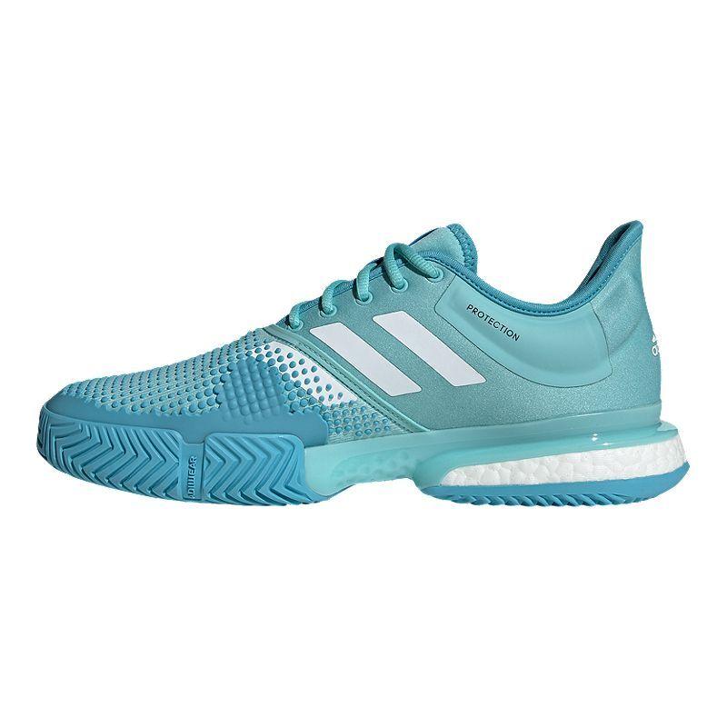 adidas Men's Solecourt Boost Parley Tennis Shoes Blue
