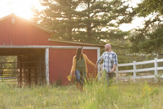 Congratulations to this newly engaged couple! I may not do a lot of engagement sessions, but it's always great sharing in that moment with them! This outdoor theme was so much fun for the photoshoot!