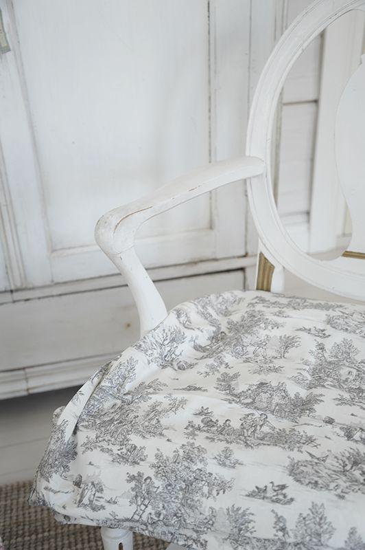 French style Gustavian Toile de jouy P ö m p e l i