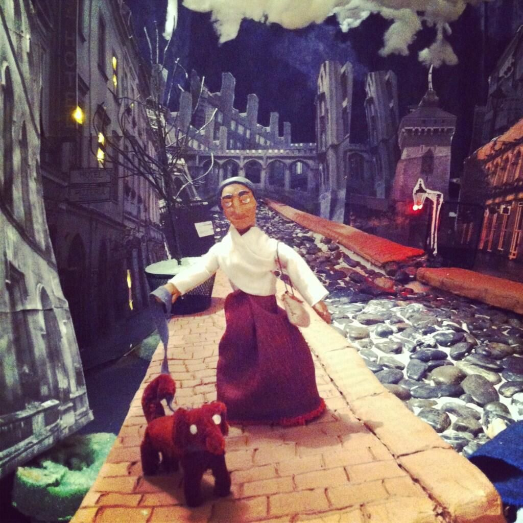Shot From The Set Of Our Latest Stop Motion Animation Claymation - Enjoy incredibly creative short stop motion parkour film