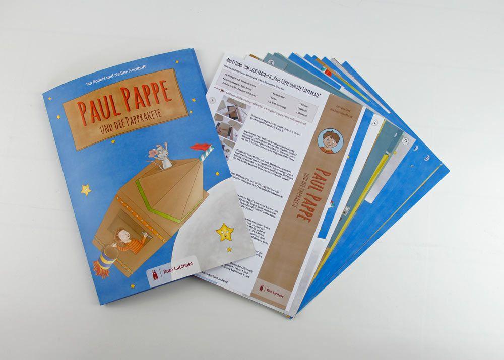 Anleitung Zum Selbstbaubuch Buch Selber Basteln Paul