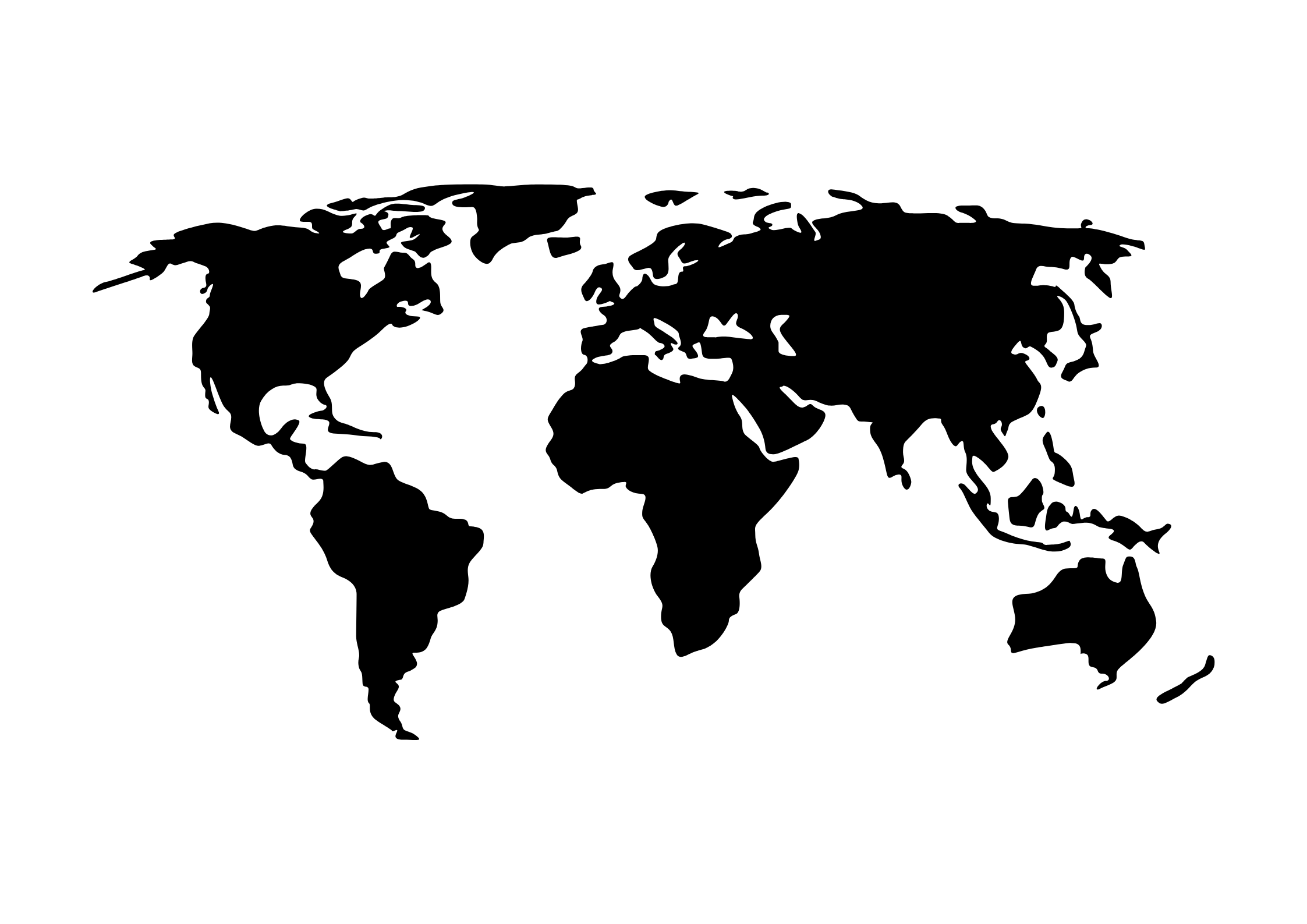 POSTER DIGITAL - Mapa Mundi no Elo7 | Coletivo Soul