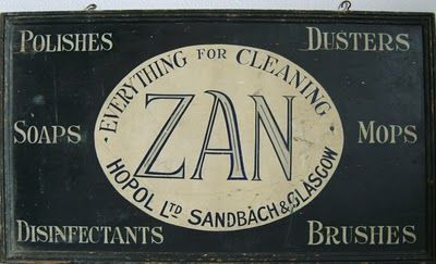 Old show sign from the Zan Industrial Park Blog