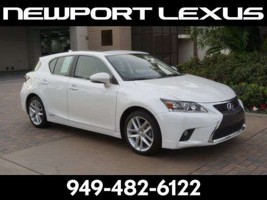 Hatchback, 2017 Lexus CT 200h with 4 Door in Newport Beach