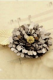 Sweet Shiny Sequined Flower Hairpin - Jewellery