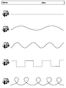 42+ Preschool worksheets drawing lines Popular