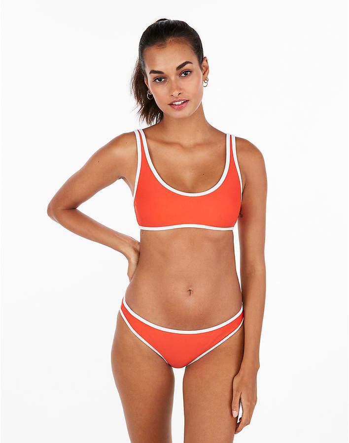 108706aee Express Clean Scoop Neck Bikini Top Cute Swimsuits, Women Swimsuits, Scoop  Neck, Bikini