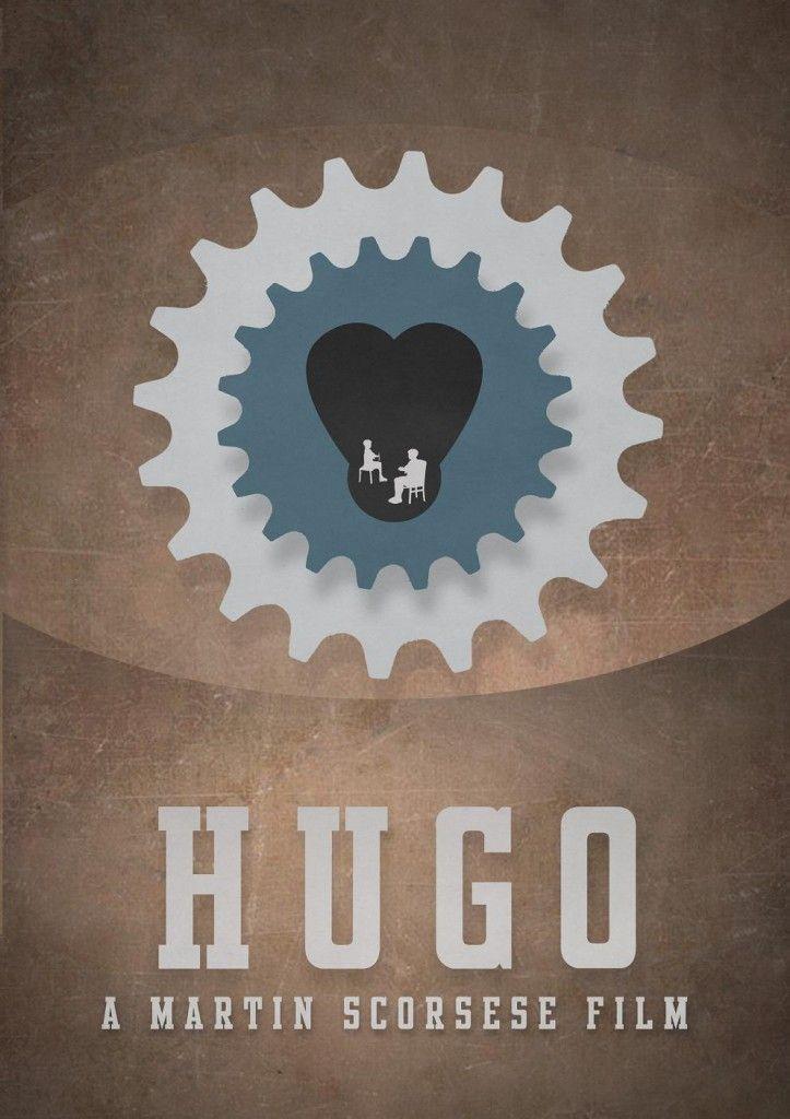 Minimalist movie posters: Hugo