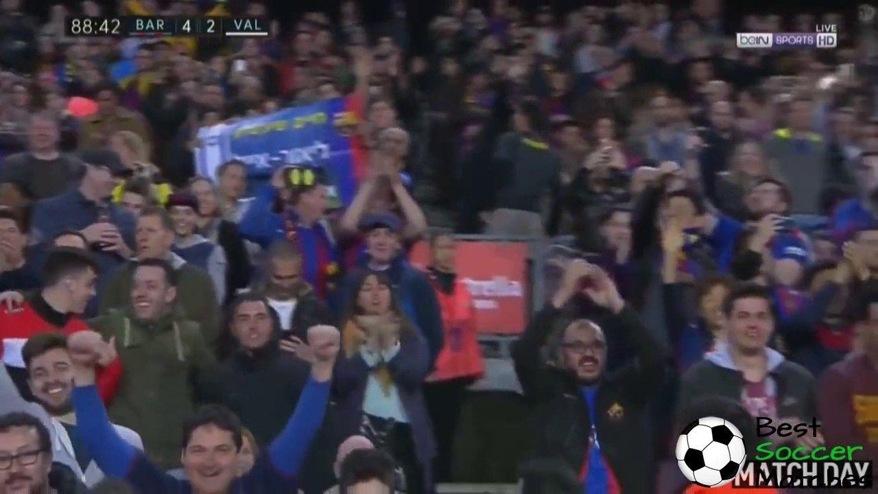 Andre Gomes Goal - Barcelona vs Valencia 4-2 - La  - Best Soccer Matches
