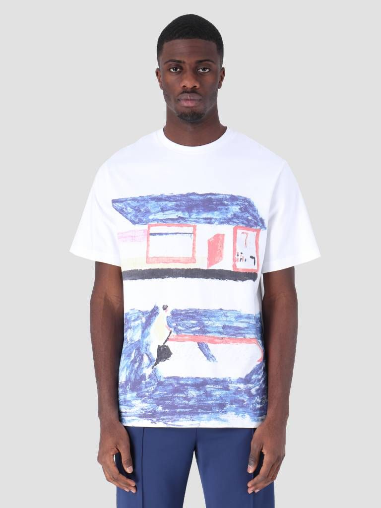 Arte Antwerp T Shirt Arte Antwerp Troy Contrast White T Shirt 3757083 Men S Fashion