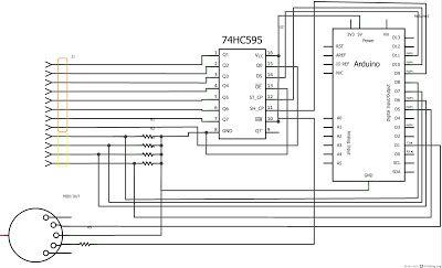 Code Tinker : How to turn Piano toy into MIDI keyboard ... on midi to usb wiring diagram, usb keyboard wiring diagram, computer keyboard wiring diagram,