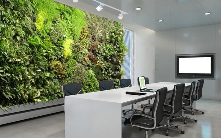 mur v g tal int rieur en 80 id es pour la maison cologique moderne mur vegetal pinterest. Black Bedroom Furniture Sets. Home Design Ideas