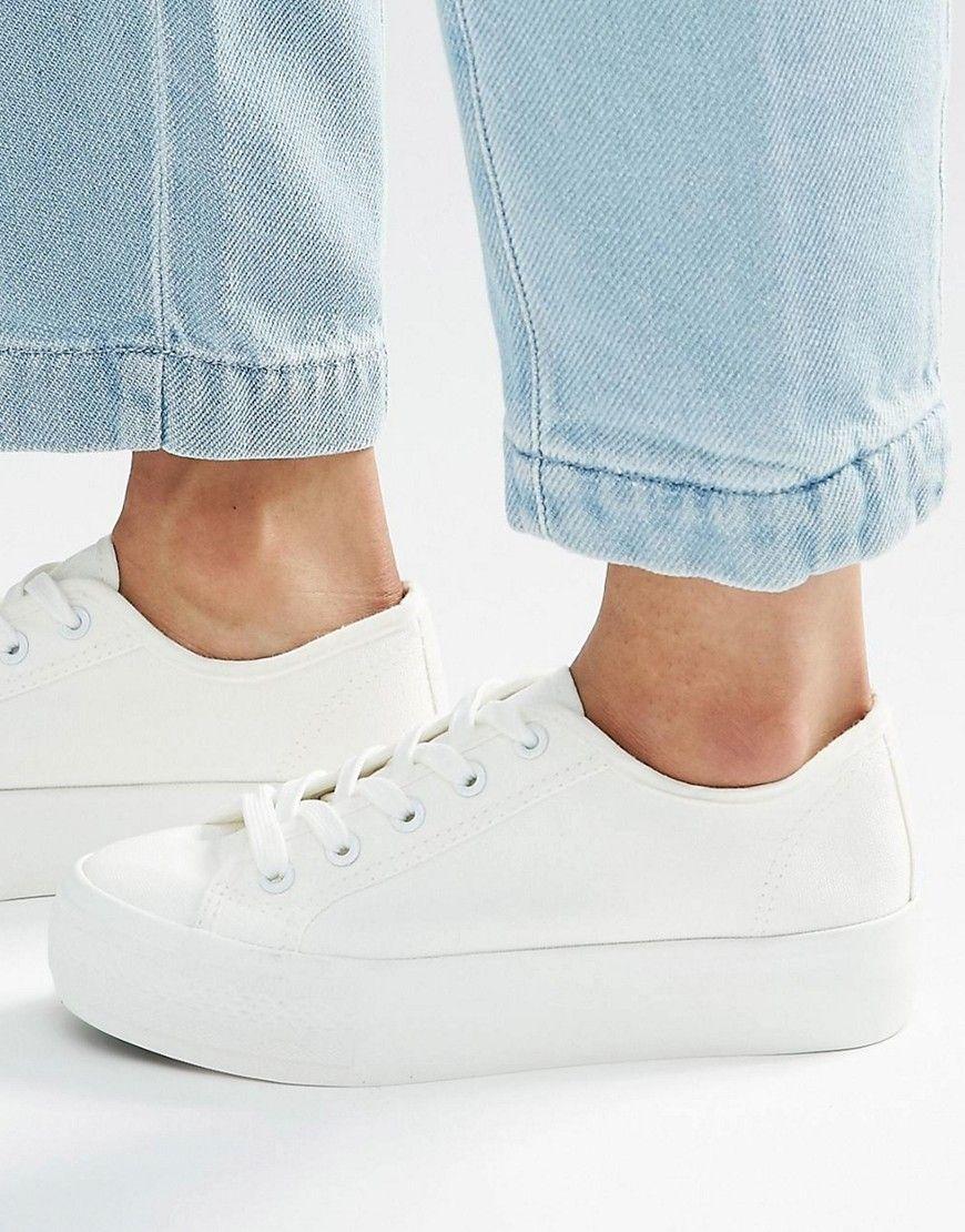 Zapatillas de deporte con cordones de New Look 1plxfLO