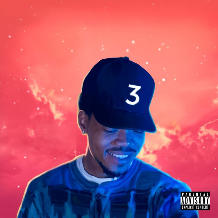 Coloring Book Poster Digital Album Chance The Rapper Chance The Rapper Coloring Book Album Cool Album Covers