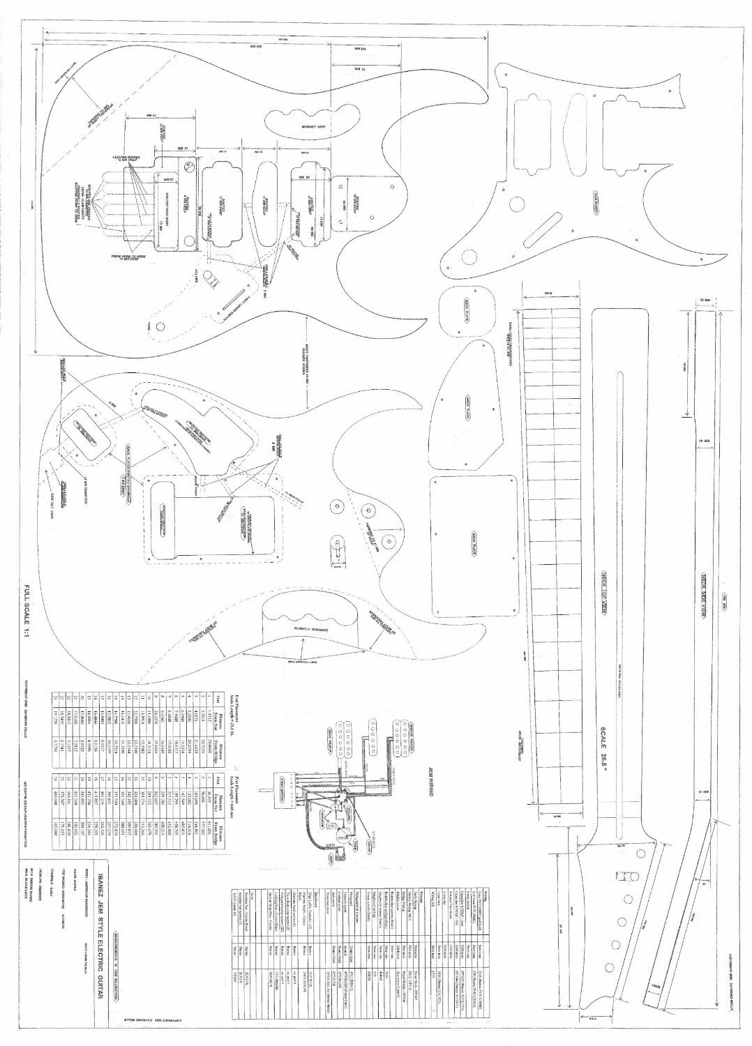Pin De Rodrigo Brandao Em Guitar Bass Plans