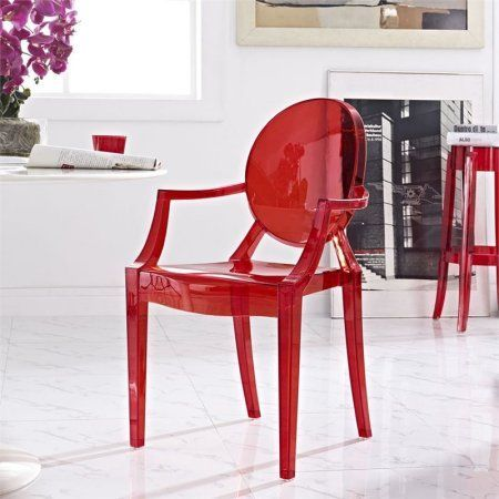 Home Dining Arm Chair Clear Dining Chairs Furniture