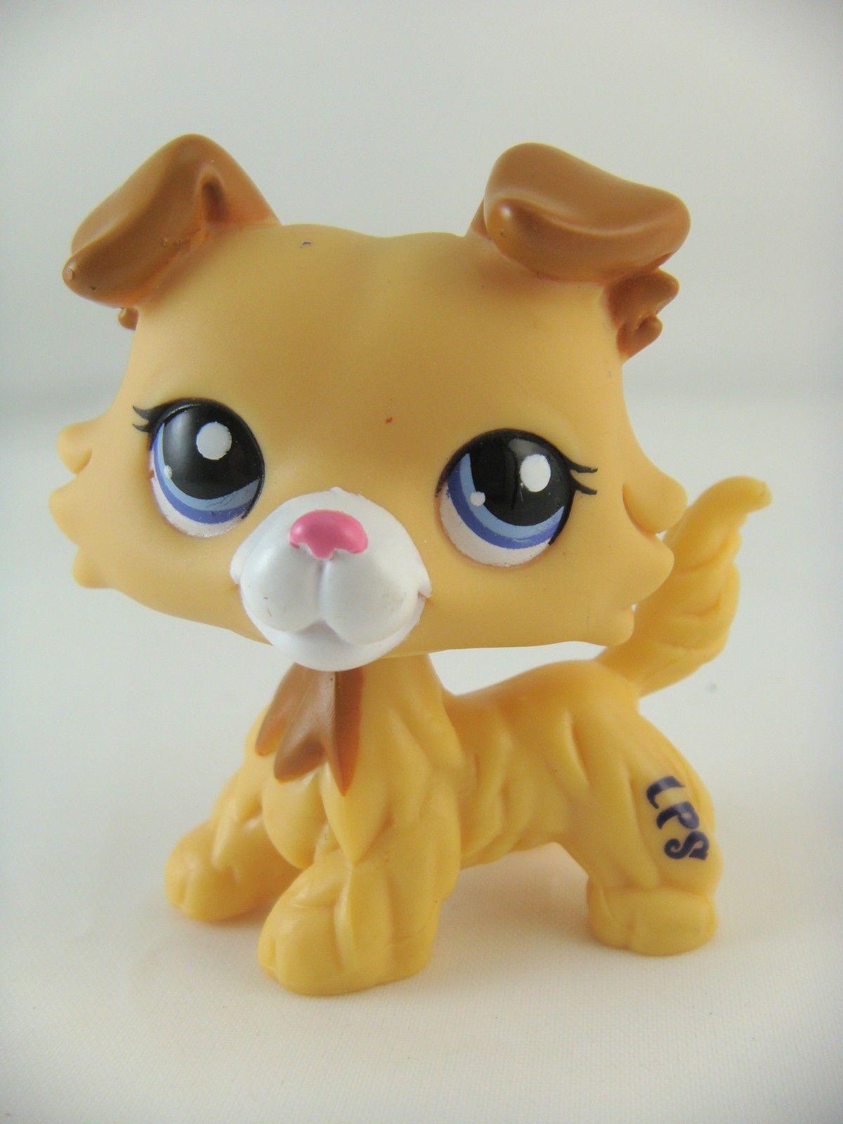 97 77 Rare Collie Blind Bag 2452 Cream Yellow Puppy Dog Ebay