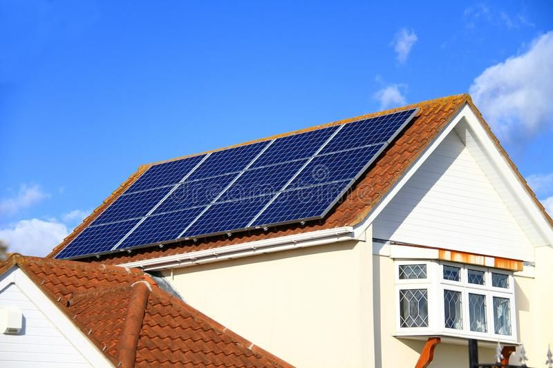 Solar Panel On Roof Top No People Stock Photo Solar Panel On Top Of A Roof With Affiliate Top People Stoc Solar Panels Roof Solar Panels Solar Energy