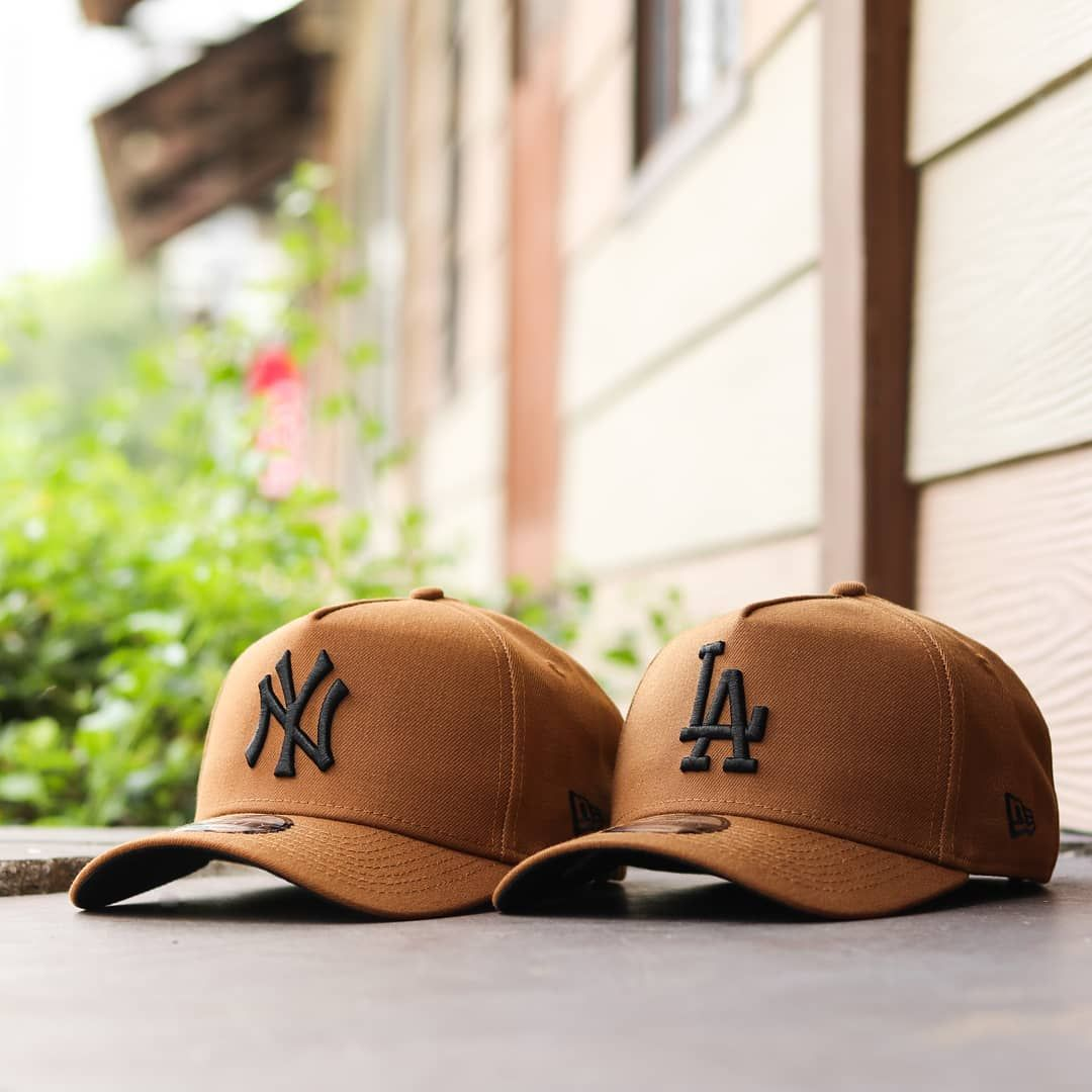 Definitely A Good Day To Get A New Cap Check Out The New Toasted Peanut Collection Featuring New Era 9forty A Frame New Yor Hats For Men Cap Outfit Mens Caps