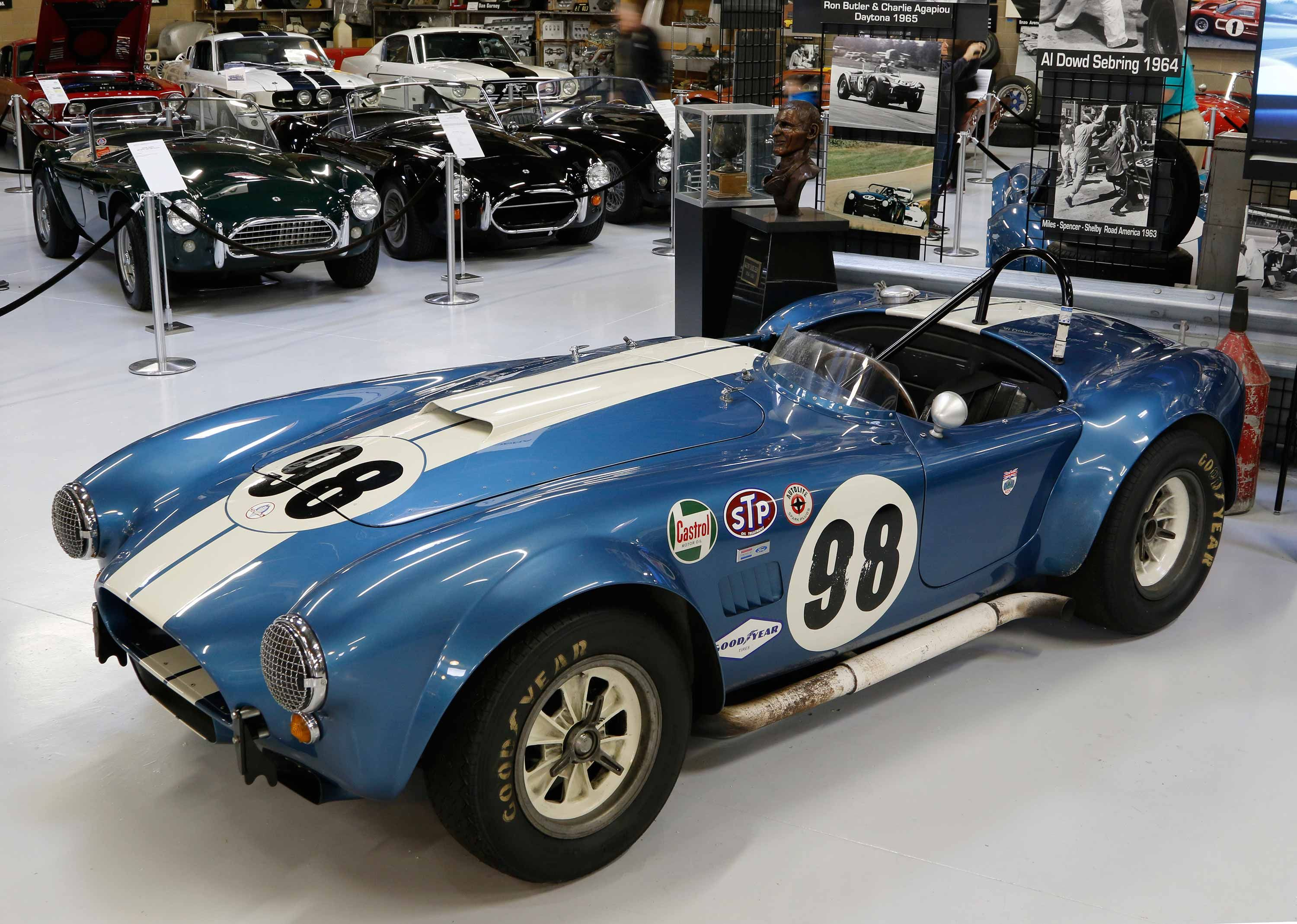 Build Your Own Cobra Kit Car >> http://shelbyamericancollection.org/cars/1964-usrrc-cobra-roadster-csx2431/ | AC/Shelby Cobra ...