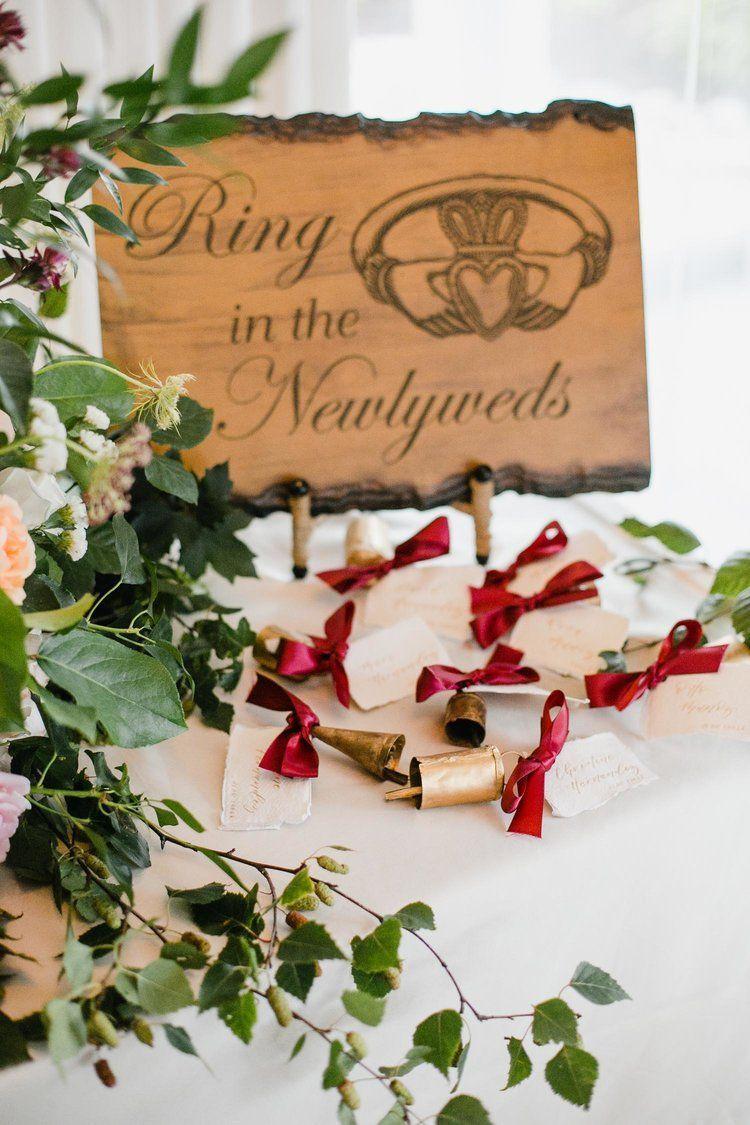 Irish Wedding Bells Ring In The Newlyweds Wedding Reception Entrance Unique Wedding Ideas W Irish Wedding Traditions Irish Wedding Receptions Irish Wedding