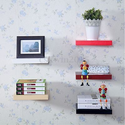 Set of 3 #floating wall #shelves hanging #shelf display wood book #shelf home deco,  View more on the LINK: http://www.zeppy.io/product/gb/2/321942990627/