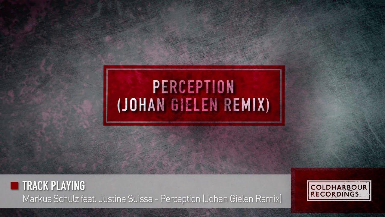 Markus Schulz feat  Justine Suissa - Perception (Johan