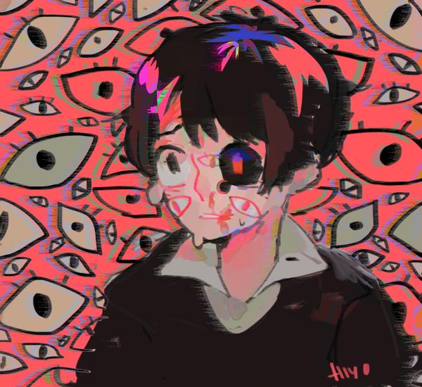Embedded image Tokyo ghoul fan art, Art, Creepy art
