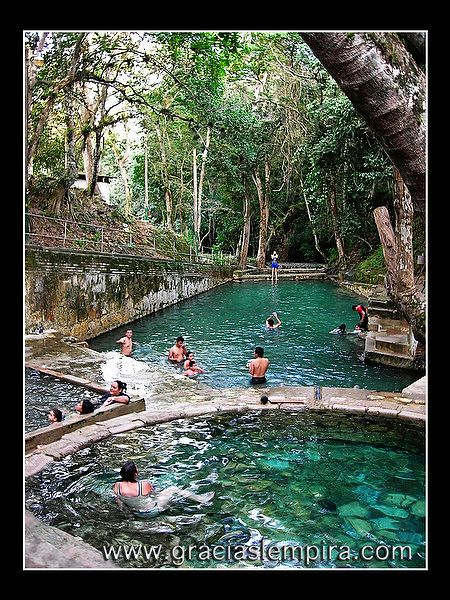 Arcilaca Thermal Hot Springs in Gracias Lempira, Honduras. SERIOUSLY!?