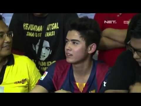 Gosip 6 Maret 2015. ALiando Maen Futsal Keren Banget.