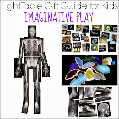 Light Table Gift Guide for Kids: Imaginative Play from And Next Comes L