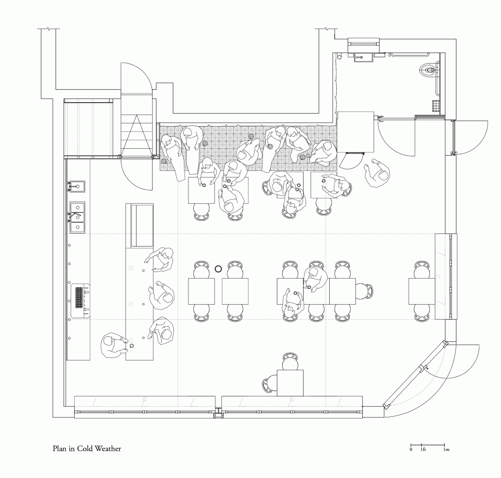 Gallery Of Coffee House Light 4 Space 9 Cafe Floor Plan Restaurant Floor Plan Restaurant Plan