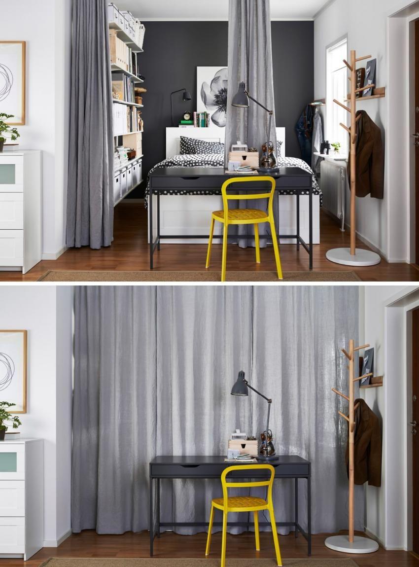 Hálószoba függönnyel leválasztva - Hálószoba függönnyel ...