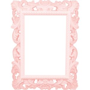 Pink Picture Frames Shabby Chic Light Black Luxury Fashion