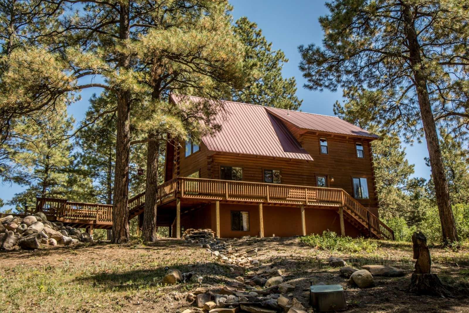 Pagosa Springs Vacation Rental Pagosa Peak Lodge Home Rental On Itrip Net Colorado Pagosasprings C In 2020 Mountain Vacations Vacation Rental Living In Colorado