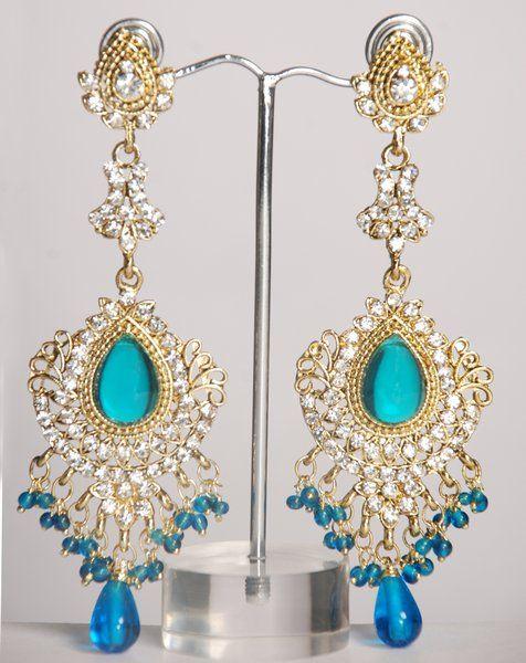Indian Designer Long Earrings