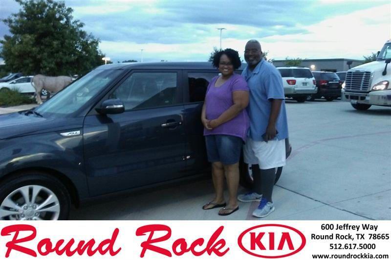 https://flic.kr/p/H8WiJH | Congratulations Angela on your #Kia #Soul from LATONYA CARR at Round Rock Kia! | deliverymaxx.com/DealerReviews.aspx?DealerCode=K449