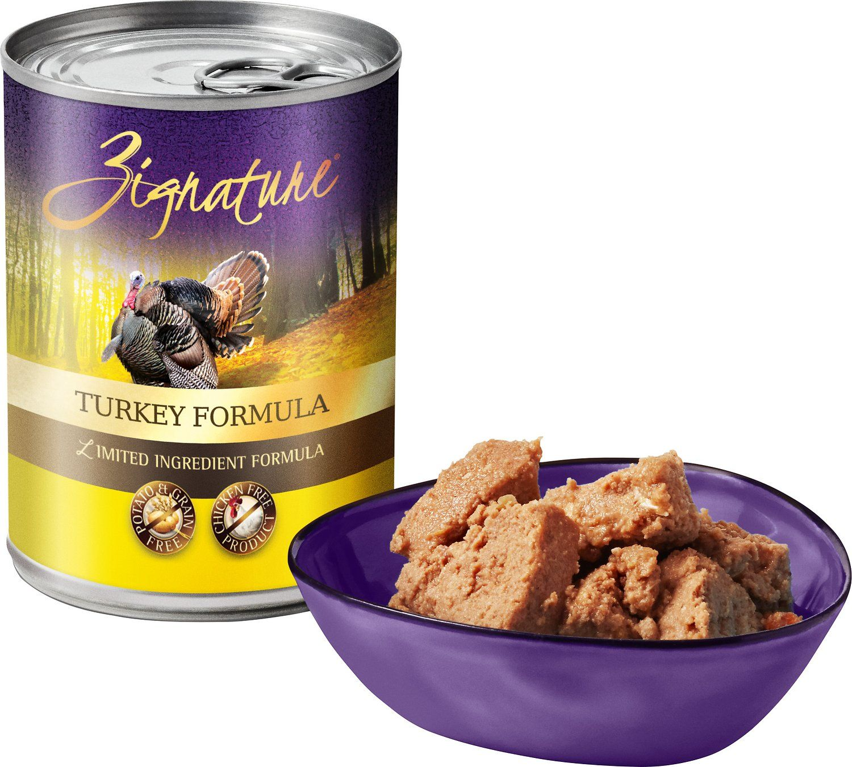 Zignature turkey limited ingredient formula grainfree
