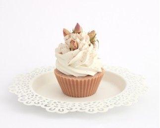 Rózsás-gerániumos muffin, az egyik nagy kedvenc