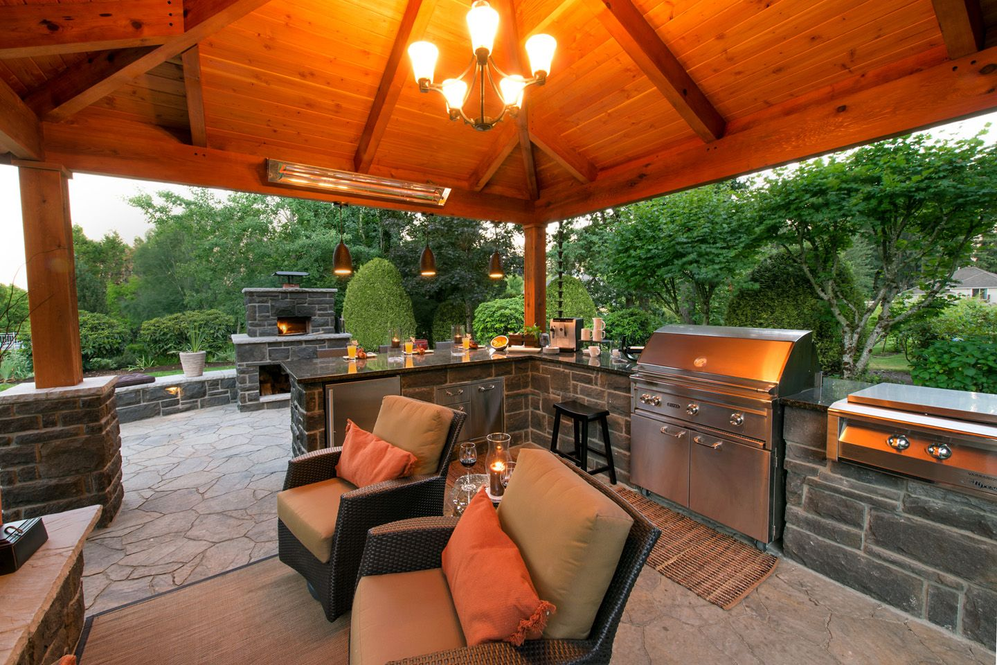 25 before after outdoor living spaces outdoor space makeover outdoor kitchen outdoor living on outdoor kitchen and living space id=84264