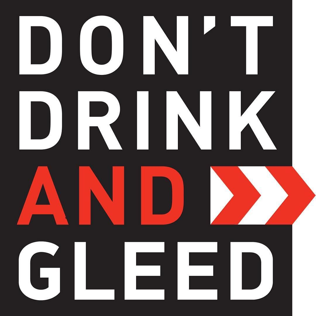 Don T Drink And Gleed Gleed Dont Drink And Drive Driving Quotes Drive Safe Quotes
