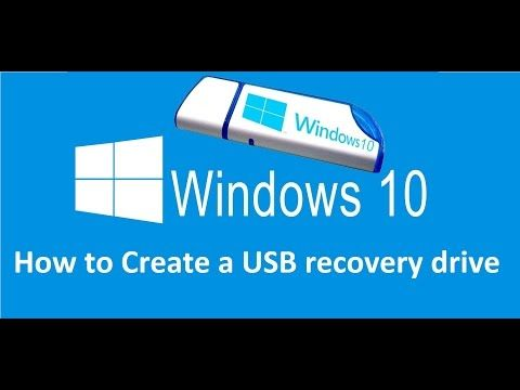 How To Create A Usb Recovery Drive In Windows 10 Howtosolveit