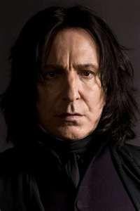 Severus Snape ~ Alan Rickman    Alan Rickman deserves an Oscar; nuff said.