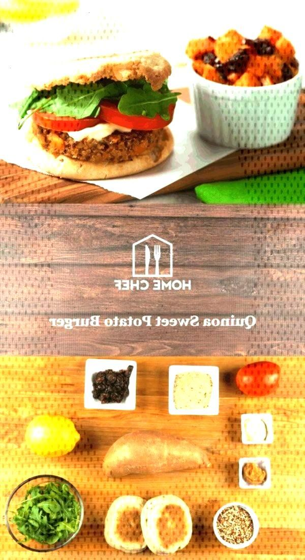 De Quinoa De Batata Doce Em Um Muffin Inglês ... - Idéias De Batata - - - - - - - -Hambúrguer De