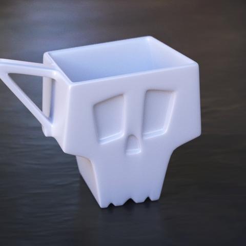 SKULL CUP #3Dprinting #3Dprint