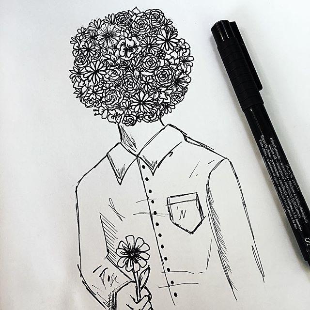 Dibujos Flores Tumblr